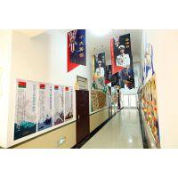 大连学校文化建设@学校文化墙装饰