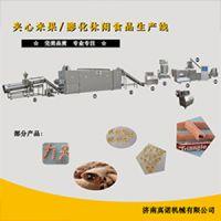供应巧克力夹心机 注芯机 夹心卷切断机 喷油机真诺机械
