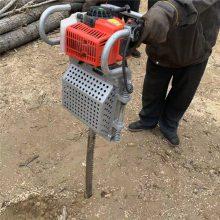 园林移苗便携两冲程挖树机 链条式刨树机 润众