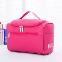 化妆包大容量特大号收纳袋旅行双层简约可爱多功能便携手提化妆箱
