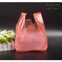 超市塑料袋定制 水果店胶袋包装袋购物马甲背心袋 定做外卖袋子