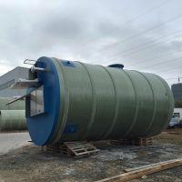GRP玻璃钢地埋式一体化污水提升泵站