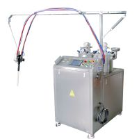 久耐机械低粘度液体硅胶灌胶机 成人用品假阳具倒模、包胶自动配胶设备