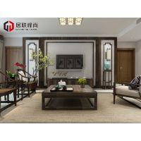 禅意龙湖水晶郦城130平中式风格