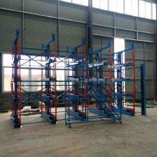 陕西大型棒料存放架 正耀伸缩式管材货架优点 存取机械操作 安全高效