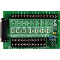 泓格37针电缆I/O口的螺钉端子板带冷端补偿DB-8225