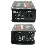 Radial Reamp JCR/ProRMP 吉他贝斯信号再放大器录音