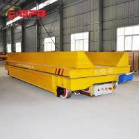 卷材运输v型工装充电式台车 工业厂房量身定制车间轨式搬运电动车