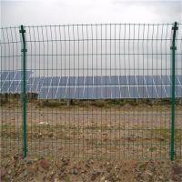 圈地养殖铁丝围栏网 果园防盗围栏网 浸塑双边丝护栏网