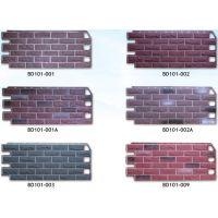 仿砖装饰外墙板 适用范围广泛:可应用于多种多样的房屋类型,比如别墅,联排房屋,度假别墅,桑拿房等
