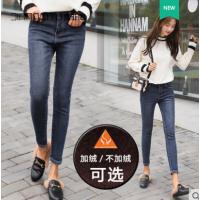 牛仔专卖店拿货工厂秋冬女士牛仔裤便宜供货厂家一手货源低至5元