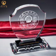 南京校庆活动纪念牌,毕业典礼工艺品,水晶镶嵌纪念币奖牌