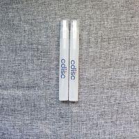 信拓PP料化妆瓶水转印加工 塑料瓶水标贴纸加工 香水瓶水贴纸
