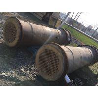 低价转让二手冷凝器 不锈钢冷凝器 列管冷凝器 钛管冷凝器