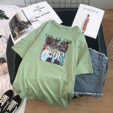 贵州遵义哪里有韩版女装T恤批发适合开店零售甩卖便宜的女装短袖批发?
