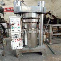 小型移动液压榨油机 新型商用芝麻香油机 全自动菜籽花生压油机