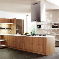 库存价 厂家定制家庭装耐用整体橱柜 烤漆饰面板亚克力厨房橱柜