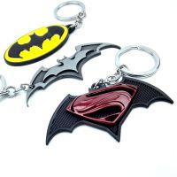 创意蝙蝠侠金属钥匙扣 漫威动漫周边产品汽车挂件