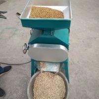 现货供应对辊式黄豆挤扁机 燕麦小麦压扁机 花生破碎机