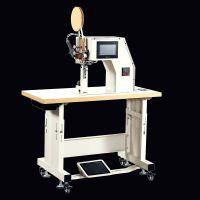 TY-995全自动(热风自动切带)压缝机 压布条机 鞋后跟贴条机