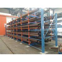 上海钢管货架 伸缩式重型钢管存放架