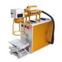 河源农用工具小型激光打标机刻字机厂家 喷涂工具打码机镭雕加工