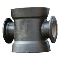 球墨铸铁双承中盘四通,球墨铸铁管,贵州铸铁管贵阳离心铸铁管