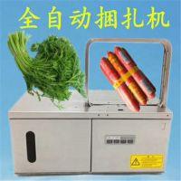 超市促销方便面/火腿肠捆绑机 LQ-2218w捆青菜设备 扎菜机鲁强机械