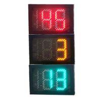 600*400红黄绿三色三位倒计时信号灯 倒计时信号灯 LED交通信号灯