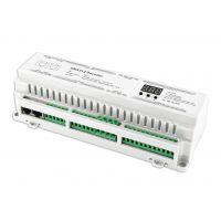 缤彩bc640-DIN大功率带数显导轨式40路dmx512恒压驱动器