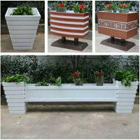 实木HUX016花箱防磨耐磨、低碳环保、组个花箱、防腐木花箱