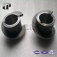 耐磨硬质合金YG8整体合金螺旋筒 油气机械钨钢直筒轴套 隔套 衬套 磨套 凸台轴套