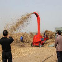 热销供应四轮带动青贮铡草机 大型自动进料切草机