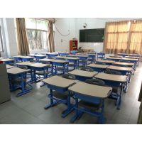 学校课桌椅HY103A低价课桌椅供应商