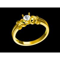 红宝石男款戒指定制 手绘戒指 金戒指寓意—菩提饰品加工厂家