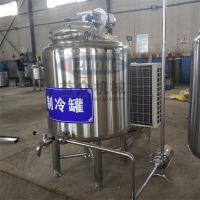 益众厂家直销卧式制冷奶罐 牛奶制冷罐有什么作用