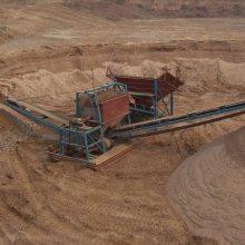 筛砂设备厂家 移动筛砂设备报价 凯翔 筛砂设备报价