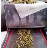 HN-20KW连续式菊花微波烘干干燥杀菌设备