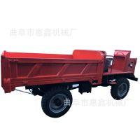优质工地转运拖拉机 双顶卸料方便四不像 厂家直销柴油动力四轮车
