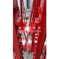 槽式电缆桥架 盘架子 10吨 梯形电缆放线架 5T 万齐