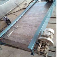 大功率长距离链板输送机精品展销耐磨 家电生产线链板输送机