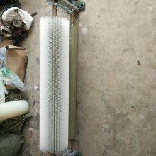 皮带传动毛刷清扫器 AY-650被动毛刷清扫器 无动滚筒毛刷清扫器