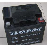 JAPATOYO东洋蓄电池6GFM24(12V38AH)哈尔滨营销商