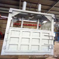 供应10吨废纸液压打包机 定做多功能半自动液压打包机