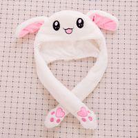 抖音玩具同款耳朵会动的兔子帽子爆款网红玩具 外贸儿童玩具礼品