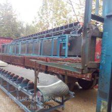 固定式带式输送机滚筒式 养殖场饲料装车橡胶皮带运输机