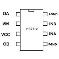 L9110/HR9110(1.2A玩具单通道直流电机驱动IC)