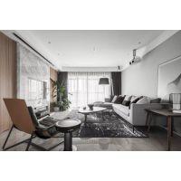 西安旧房翻新:现代简约风格房子装修,舒适优雅