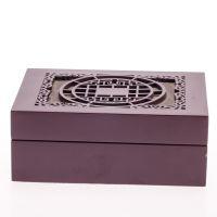 批发高档欧式木质丝印包装木盒雪茄茶叶盒实木礼品收纳木盒子定做