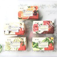 韩国进口香皂火山泥去灰皂韩泥坊洗澡搓澡免搓沐浴手工皂精油玫瑰